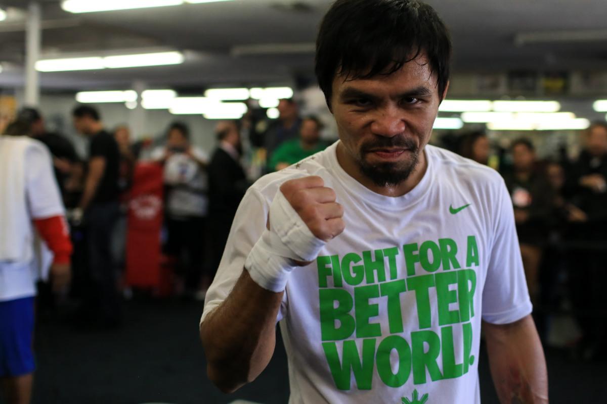 菲律賓的驕傲:世界拳王帕奎奧 (Manny Pacquiao)