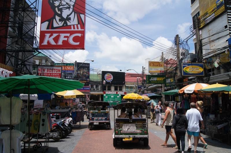 曼谷考山路的KFC (Andrij Bulba)
