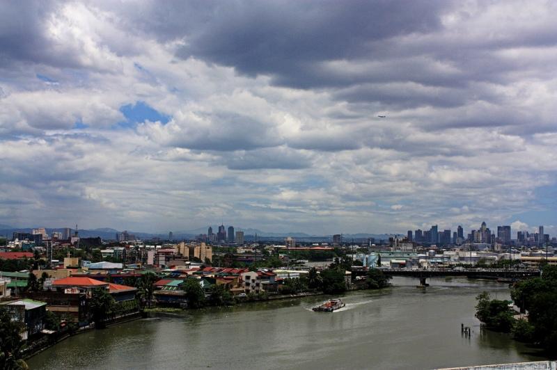 Manila Pasig River (Bar Fabella)