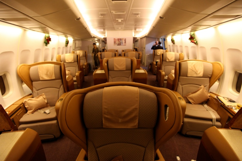 Singapore Airlines First Class (747) (Richard Moross) Flickr