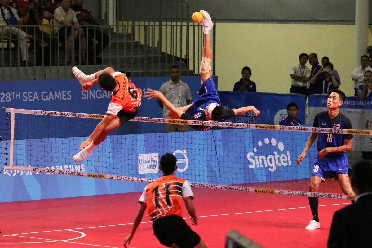 東南亞最盛行的運動:藤球