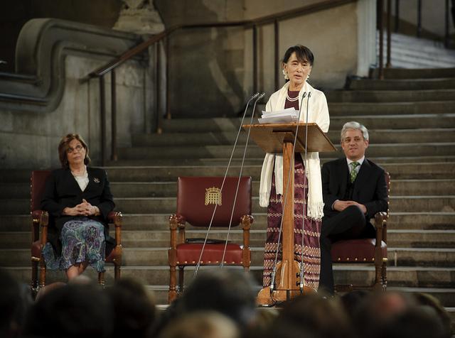 ASSK 2012英國國會演講