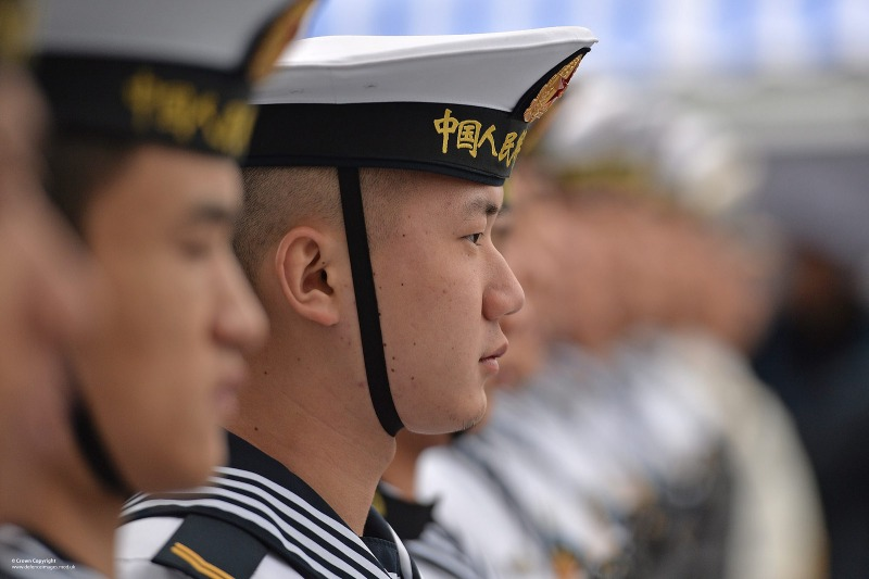 Chinese Sailors on Visit to Portsmouth(UK Ministry of Defence)