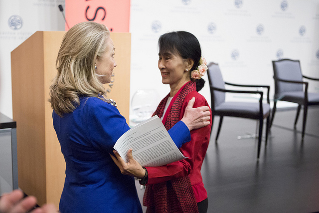 Clinton and ASSK (Asia Society)