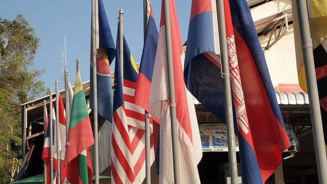 ASEAN FLAG (Prachatai)