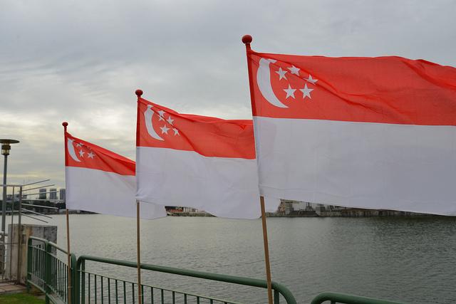 Singapore Falg by missbossy
