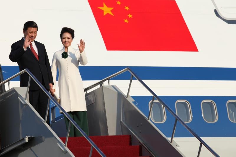 中國國家主席習近平伉儷。(Photo Credit: Wikipedia@ CC BY 2.0)