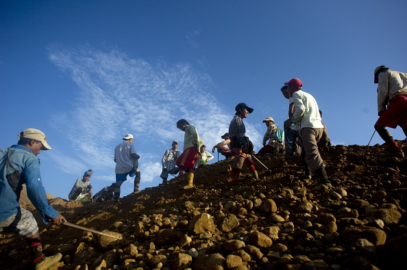MYANMAR-CHINA-MINING-ECONOMY-POLITICS-RESOURCES