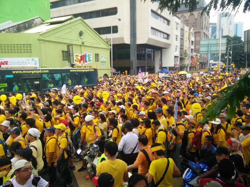 bersih_4-0_rally_at_pasar_seni_day_1