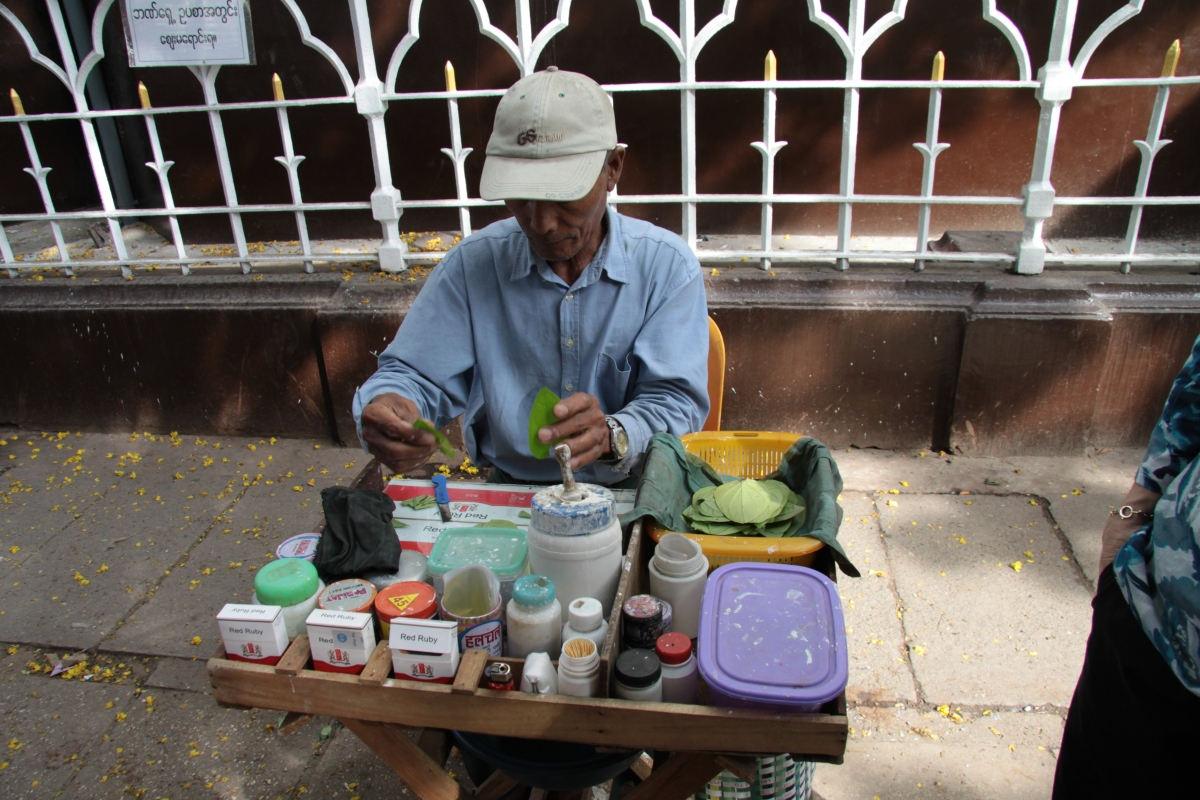 緬甸發起反檳榔與菸草運動
