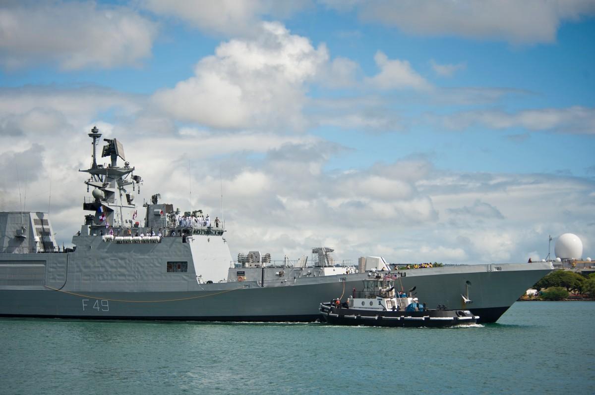越南印度進行首次海上聯合軍事演習