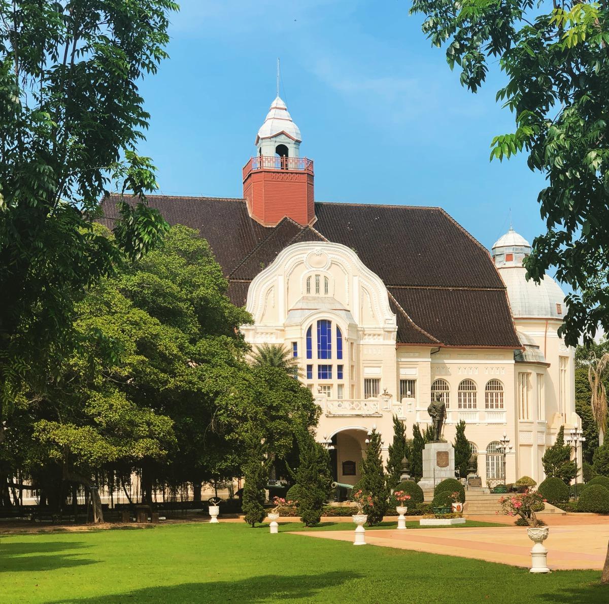 那些年,我們一起蓋的歐風行宮—泰國卻克里王朝西化遺緒