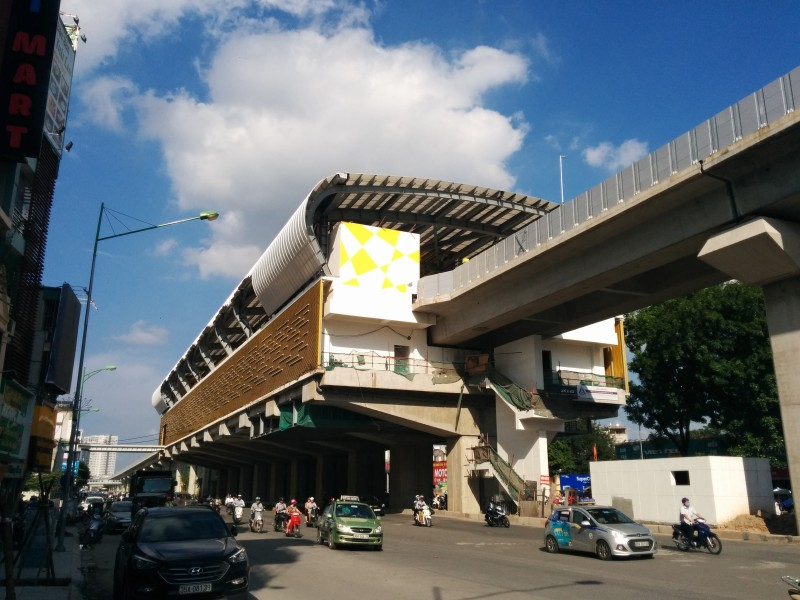 Hanoi_Metro_station_nearing_completion