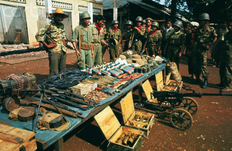 Troops with Weapons