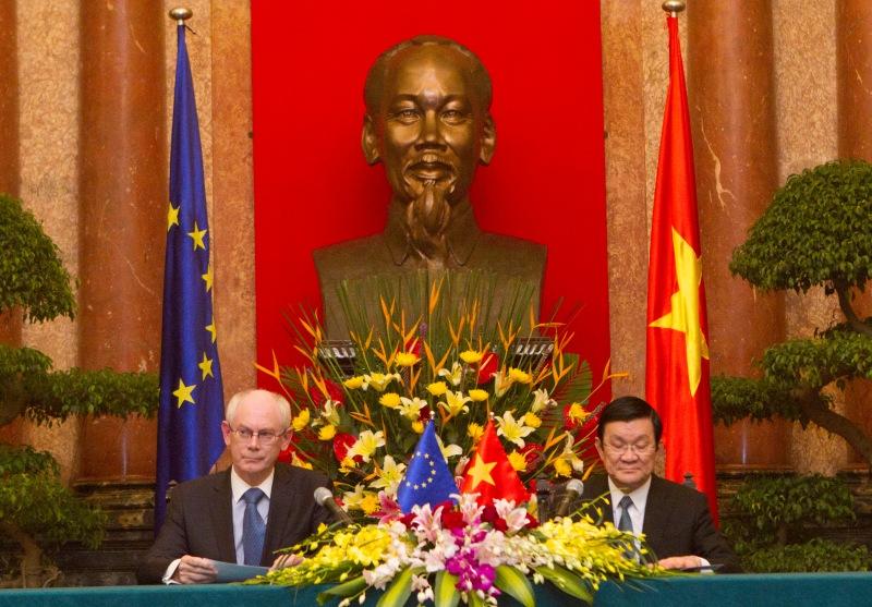 President Rompuy in Hanoi